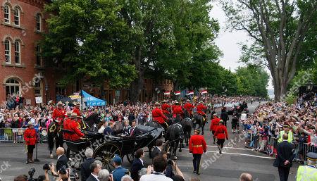 Editorial photo of Royal Tour Canada, Charlottetown, Canada