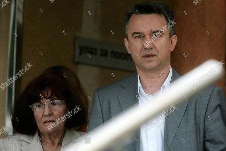 Darko Mladic, Bosiljka Mladic Darko Mladic, Ratko Mladic's son, right, and Bosiljka Mladic, Ratko Mladic's wife, exit the Special Court building where Mladic is being held in Belgrade, Serbia, . Ratko Mladic claims he had nothing to do with the massacre of 8000 men and boys in the Bosnian town of Srebrenica when it fell during the 1992-1995 war, his son said Sunday