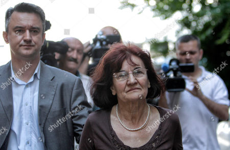 Bosiljka Mladic, Darko Mladic Bosiljka Mladic, the wife of genocide suspect Ratko Mladic, center, and their son Darko, leave the Special Court building in Belgrade, Serbia, on . Genocide suspect Ratko Mladic in due in a Belgrade court for a hearing which is a legal step toward his extradition to a U.N. war crimes tribunal. Europe's most wanted war crimes fugitive was arrested Thursday in a northern Serbian village after 16 years on the run