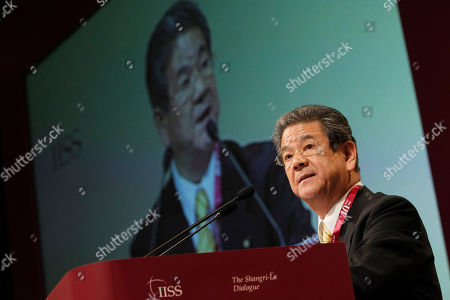 Toshimi Kitazawa Japan's Minister for Defense Toshimi Kitazawa speaks on the topic New Military Doctrines And Capabilities in Asia during the International Institute for Strategic Studies (IISS) Asia Securities Summit, the Shangri-La Dialogue on in Singapore