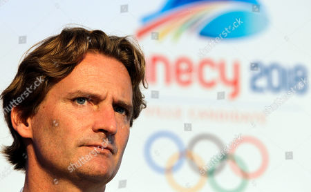 Charles Beigbeder Charles Beigbeder, president of Annecy 2018, looks on as he takes a question during their media conference in Durban, South Africa, . International Olympic Committee President Jacques Rogge on July 6, 2011 in Durban, will announce the name of the host city of the XXIII Olympic Winter Games