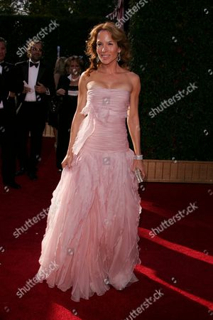Editorial image of 59th Primetime Emmy Awards arrivals at the Shrine Auditorium, Los Angeles, America - 16 Sep 2007