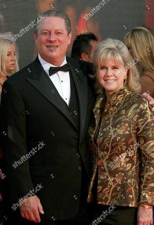 Al Gore and wife Tipper Gore