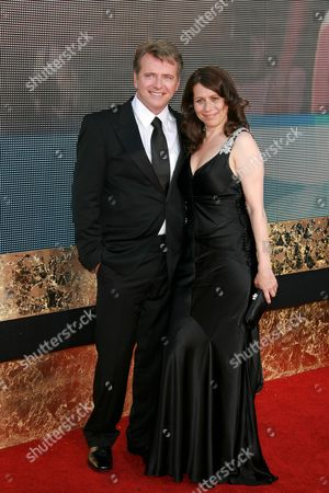 Aidan Quinn and wife Elizabeth Bracco