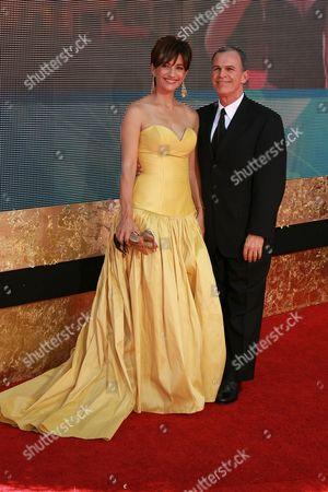 Stock Image of Ada Maris and Tony Plana