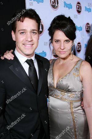 T.R. Knight and Mia Barron