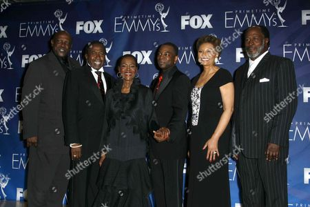 Cast of Roots - Louis Gossett Jnr, Ben Vereen, LeVar Burton, John Amos