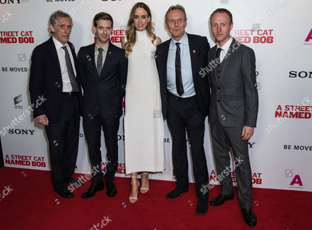 Stock Picture of Roger Spottiswoode, Luke Treadaway, Ruta Gedmintas, Anthony Head and Adam Rolston