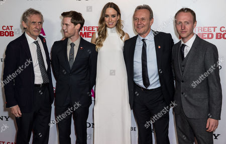 Stock Image of Roger Spottiswoode, Luke Treadaway, Ruta Gedmintas, Anthony Head and Adam Rolston