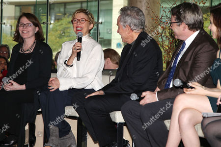 Stock Picture of Lorraine Feather, Annette Bening, Warren Beatty and Matthew Broderick