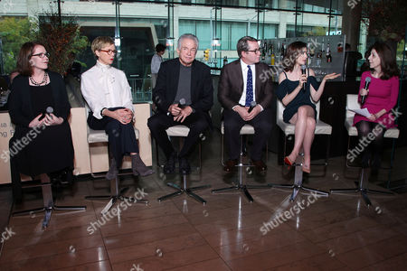 Editorial image of Regency Enterprises & 20th Century Fox Present a Luncheon in Honor of 'RULES DON'T APPLY', New York, USA - 03 Nov 2016