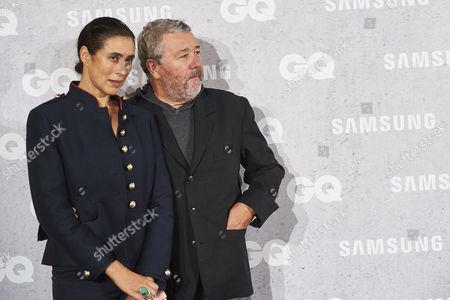 Jasmine Abdellatif Starck and Philippe Starck