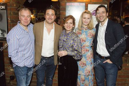 Steve Pemberton (Brian), Rufus Jones (Richard), Katherine Parkinson (Eleanor), Emily Berrington (Lisa) and Ralf Little (Nick)