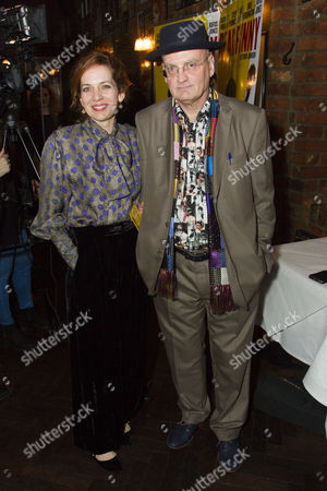 Katherine Parkinson (Eleanor) and Terry Johnson (Author/Director)