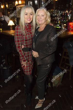 Tracie Bennett and Martina Cole