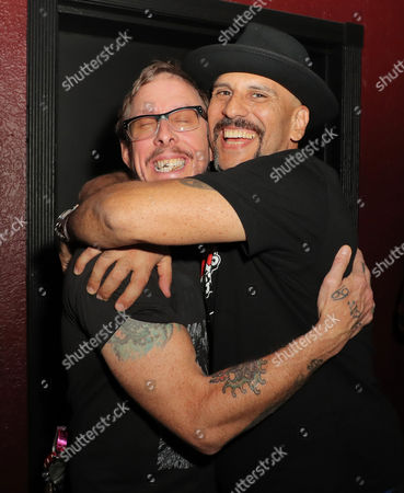 Scott Shriner and Dave Kushner