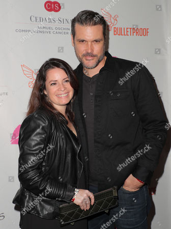 Holly Marie Combs and guest