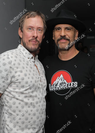 Stock Photo of Scott Shriner and Dave Kushner