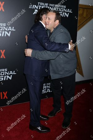 Andy Garcia and Kevin James