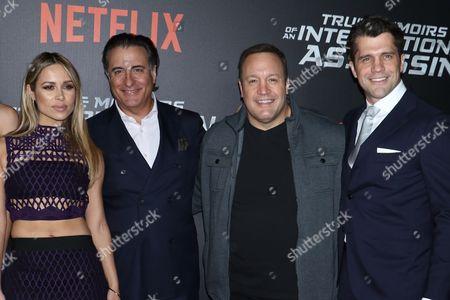 Zulay Henao, Andy Garcia, Kevin James and Jeff Wadlow, writer/diretor