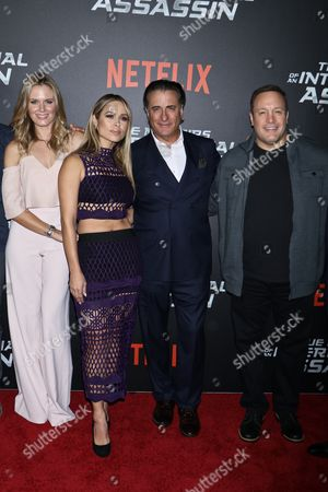 Lauren Shaw, Zulay Henao, Andy Garcia and Kevin James