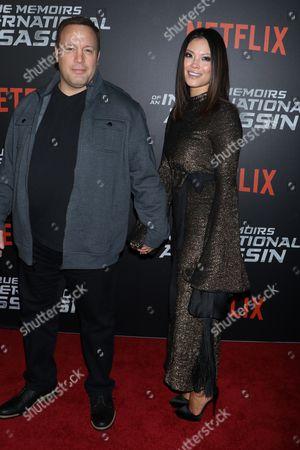 Kevin James and wife Steffiana de la Cruz