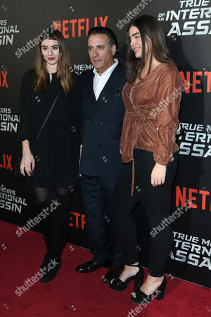 Stock Picture of Dominik Garcia-Lorido, Andy Garcia and Alessandra Garcia-Lorido