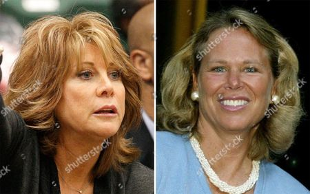 Is Texas Legends head coach Nancy Lieberman in Frisco, Texas. At right, in a June 21, 2004, file photo is Ann Meyers at a news conference at Columbia University in New York. When USA Basketball hands out jerseys to members of its national women's basketball team before they attempt to win a sixth straight Olympic gold medal at the Rio Games, it will also provide them with a history lesson