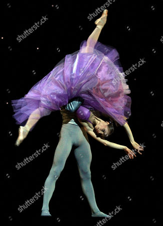 Memers of the stae ballet perform during a dress rehearsal at the State Opera in Vienna, on . The Vienna State Ballet is preparing to pay tribute to Jerome Robbins, one of modern ballet's master choreographers. In an interview ahead of the May 3 premiere of an evening in his honor, ballet director Manuel Legris called him a genius