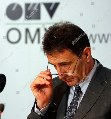 Gerhard Roiss Gerhard Roiss, appointed CEO at the end of March of the Austrian oil and gas giant OMV AG, looks at a news conference at their headquartes in Vienna, Austria, on . OMV expects a temporary reduction of its Libyan production and can not exclude a complete stop
