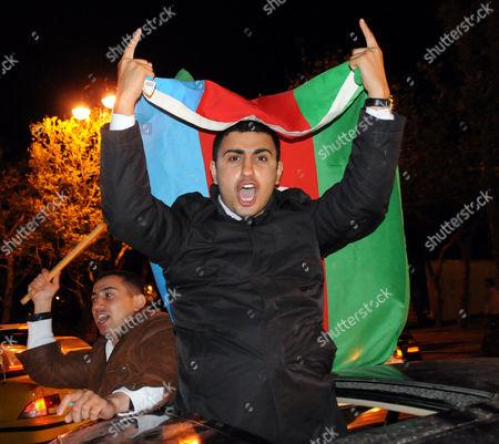 Editorial image of Azerbaijan Eurovision Song Contest, Baku, Azerbaijan