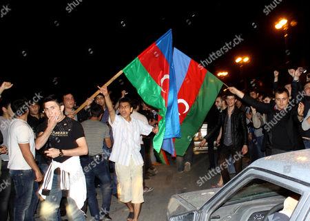 Editorial picture of Azerbaijan Eurovision Song Contest, Baku, Azerbaijan