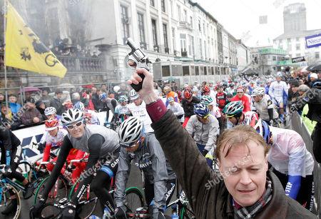 Editorial image of Belgium Cycling, Ghent, Belgium