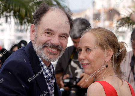 Jean-Pierre Darroussin, Kati Outinen Actors Jean-Pierre Darroussin, left, and Kati Outinen pose during a photo call for Le Havre, at the 64th international film festival, in Cannes, southern France