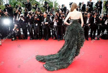 Julia Saner Model Julia Saner arrives for the screening of The Conquest at the 64th international film festival, in Cannes, southern France