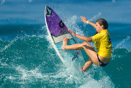 Coco Ho U.S. surfer Coco Ho of Hawaii competes in round three of the Billabong Rio Pro Women's surfing competition in Rio de Janeiro, Brazil