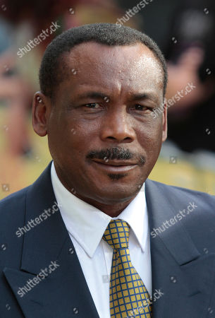 Gordon Greenidge West Indian former cricketer Gordon Greenidge poses for the photographers as he arrives for the European premiere of the 'Fire in Babylon' film at a central London's cinema, . The film charts the rise of the West Indies Cricket team in the 70's and 80's