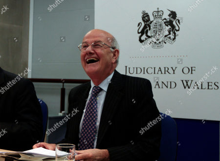 Igor Judge Britain's Lord Chief Justice Igor Judge smiles following a news conference at the Royal Court of Justice, in central London, . Judge, the top judge in England and Wales said Friday, that members of Parliament should think carefully about using their position to circumvent court orders restraining media, introducing a lengthy review of privacy legislation and the use of court orders to silence news reporting
