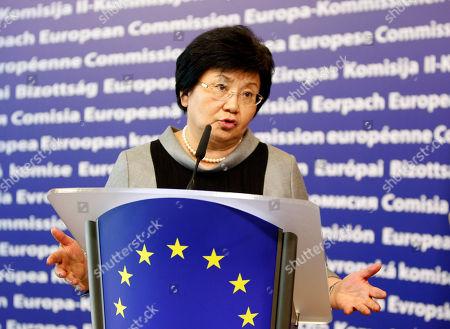 Editorial photo of Brussels EU Kyrgyzstan, Brussels, Belgium