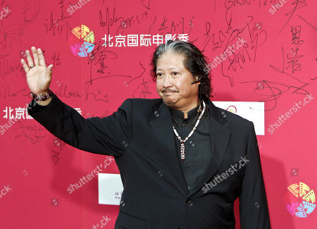 Sammo Hung Kam Bo Hong Kong movie star Sammo Hung Kam Bo waves to his fans upon arrival at the opening of the Beijing International Film Festival in Beijing, China