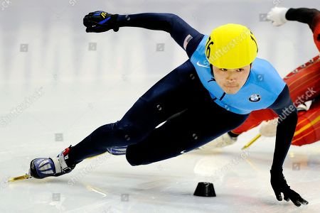 Simon Cho Winner Simon Cho, of the United States, competes during the men's 500-meter final race at the Short Track Speedskating World Cup in Dresden, Germany. Fourteen current members of the national team, including 2010 Olympic medalists Allison Baver, J.R. Celski, Travis Jayner and Jordan Malone, initially signed a grievance alleging they were abused verbally, physically and psychologically by head coach Jae Su Chun. The demand for arbitration also claims Chun was the mastermind of an incident at the 2011 world championships in which Cho was accused of tampering with the skate of a Canadian athlete. Cho has declined comment about the incident but is competing with the U.S. National racing program at the U.S. Single Distance Short Track Speedskating Championships beginning, in Salt Lake City