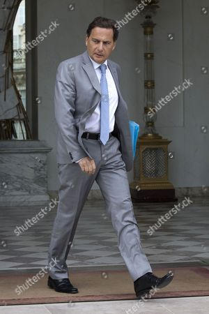 Eric Besson France's Industry Minister Eric Besson leaves the Elysee Palace in Paris, after the weekly cabinet meeting