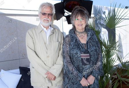 Jan Harlan, Christiane Kubrick Christiane Kubrick, the widow of director Stanley Kubrick, right, and her brother Jan Harlan pose for photos to promote the film Clockwork Orange during an interview with the Associated Press at the 64th international film festival, in Cannes, southern France