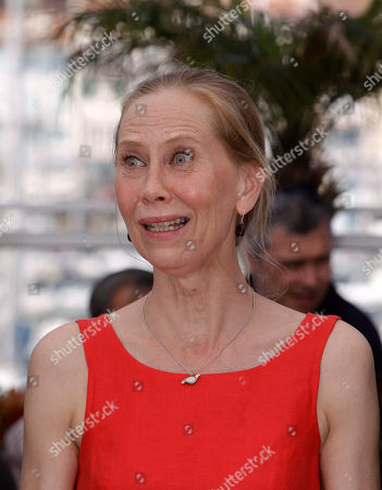 Kati Outinen Actress Kati Outinen poses during a photo call for Le Havre, at the 64th international film festival, in Cannes, southern France