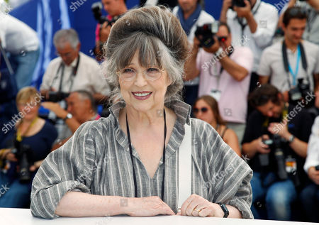 Christiane Kubrick Actress and widow of director Stanley Kubrick, Christiane Kubrick, poses during a Cinema Masterclass photo call at the 64th international film festival, in Cannes, southern France