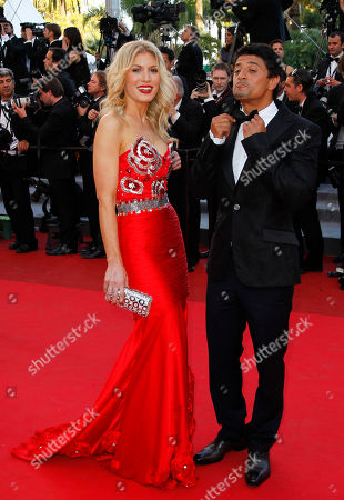 Hofit Golan, Said Taghmaoui Model Hofit Golan, left, and actor and Said Taghmaoui arrive for the screening of The Artist at the 64th international film festival, in Cannes, southern France