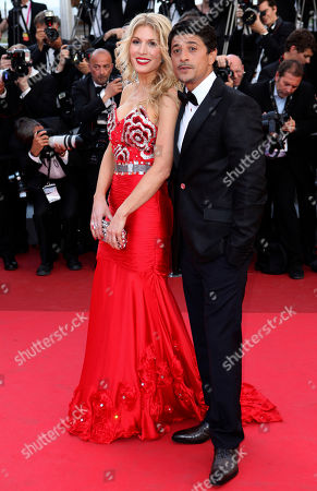 Hofit Golan, Said Taghmaoui Model Hofit Golan, left, and actor Said Taghmaoui arrive for the screening of The Artist at the 64th international film festival, in Cannes, southern France