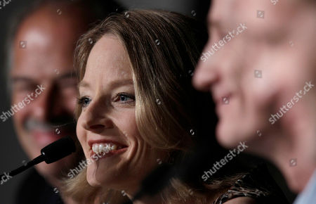 Keith Redmon, Jodie Foster, Kyle Killen From left, producer Keith Redmon, director Jodie Foster and screenwriter Kyle Killen attend a press conference for The Beaver, at the 64th international film festival, in Cannes, southern France