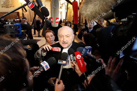 Georges Kiejman French lawyer Georges Kiejman answers journalists as he arrives at a Paris courthouse, . A long-awaited French corruption trial opened Monday with former President Jacques Chirac as the star defendant. Chirac, 78, is accused of embezzlement, breach of trust and conflict of interest, based on allegations linked to his tenure as Paris mayor before he became president from 1995 to 2007