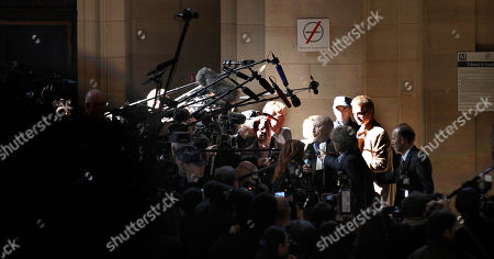 Georges Kiejman French lawyer Georges Kiejman, center right, answers journalists at the Paris courthouse, . A Paris judge has delayed a historic trial in which former French President Jacques Chirac is accused of corruption, suspending proceedings until June because of a complaint by defense lawyers
